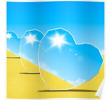 heart mirrors Poster