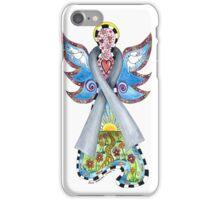 BRAIN CANCER ANGEL - HOPE LOVE FAITH iPhone Case/Skin