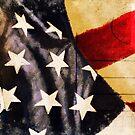America flag postcard by naphotos