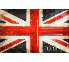 England flag postcard Photographic Print