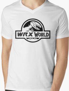 wrx world Mens V-Neck T-Shirt