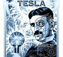 Inventor Nikola Tesla. Thomas Edison. Electricity by unclegertrude