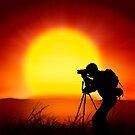 shooting the sun by naphotos