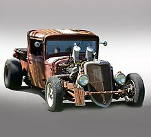 Ford Rat Rod Pick-Up by DaveKoontz