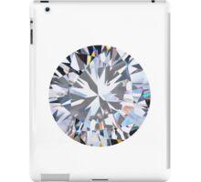 brilliant cut diamond  iPad Case/Skin