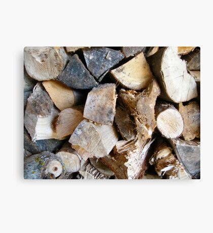 LOGS  ART PRINT/GREETING CARD,CANVAS AND MORE Canvas Print