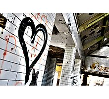 Love in Ruin Photographic Print
