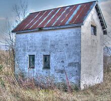 Abandoned Shed by James Brotherton