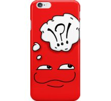 Froglet red iPhone Case/Skin