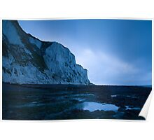 Dawn at the White Cliffs of Dover Poster
