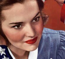 Become A Nurse - Your Country Needs You -- WW2 Sticker