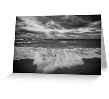 Autumn at the Beach Greeting Card
