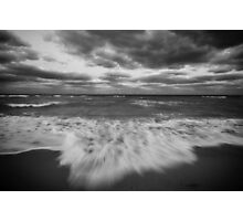 Autumn at the Beach Photographic Print