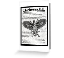 The Common Moth Greeting Card