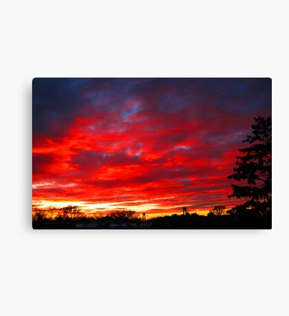 Last Evening Canvas Print