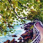 Croatia - Sea Wall by Genevieve  Cseh