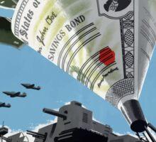 Buy War Savings Bonds - Beat The Promise - WW2 Sticker