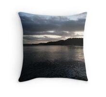 Woy Woy Late Sunset Throw Pillow