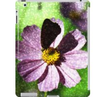 Flower with butterfly iPad Case/Skin