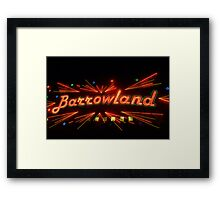 Barrowland Music Hall/Ballroom Framed Print