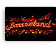 Barrowland Music Hall/Ballroom Canvas Print