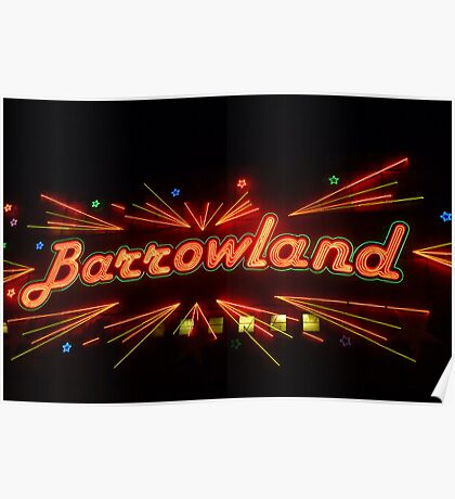 Barrowland Music Hall/Ballroom Poster