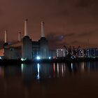 Battersea at Night by BULLYMEISTER