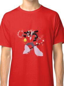 Nitro Man Splattery Vector Design Classic T-Shirt