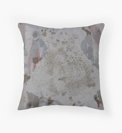 Dressed in White II Throw Pillow