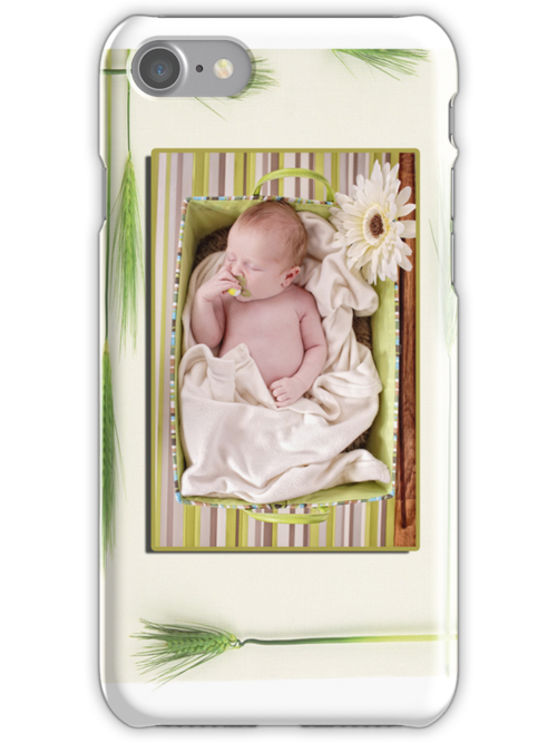 """"""" Daisy  Baby """"  baby iPhone Case  by Love Through The Lens"""