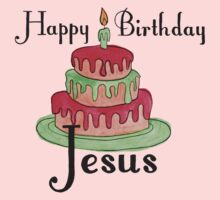 Jesus' Birthday Kids Tee