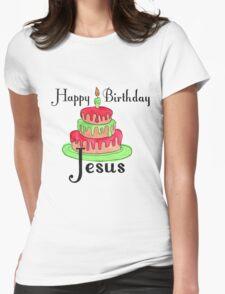 Jesus' Birthday Womens Fitted T-Shirt