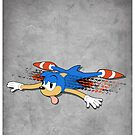 80s Arcade RoadKill Sonic  by Creative Spectator
