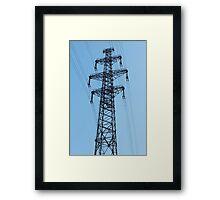 High Voltage Framed Print