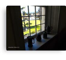 Window Dressing/Historic Portals Canvas Print