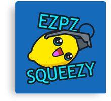 Ezpz Lemon Squeezy v1 Canvas Print