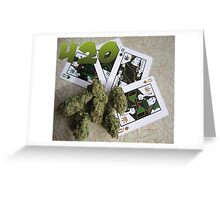 MARIJUANA 420 Greeting Card