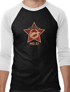 Think In Russian Men's Baseball ¾ T-Shirt