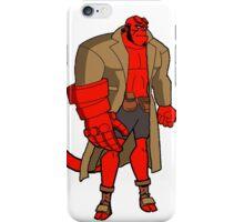 Bruce Timm Style Hellboy iPhone Case/Skin
