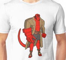 Bruce Timm Style Hellboy Unisex T-Shirt