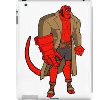 Bruce Timm Style Hellboy iPad Case/Skin