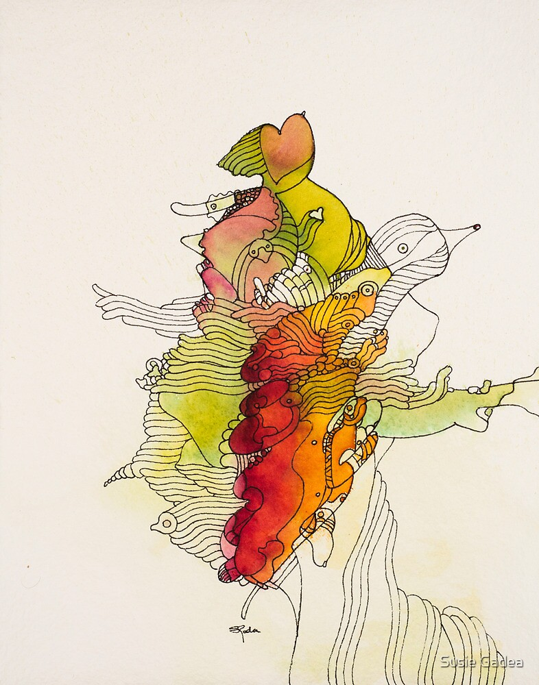 Her finger print by Susie Gadea