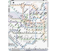 Seoul Tube map iPad Case/Skin