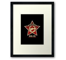 Think In Russian Framed Print