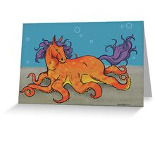 OctoHorse Greeting Card