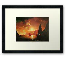 Uncharted Shores Framed Print