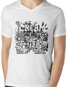 Wheels of Fire Mens V-Neck T-Shirt