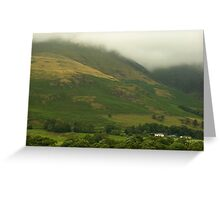 Misty in the Lakes  Greeting Card