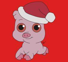 Christmas Pig Kids Clothes