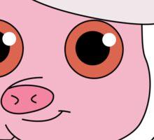 Christmas Pig Sticker